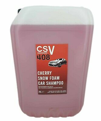 Cherry Snow Foam Wash And Wax 25l Litre - Concentrated Snowfoam  • 26.99£