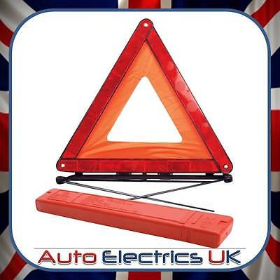 Reflective Warning Sign Fordable Triangle Car Hazard Breakdown Eu Emergency • 4.25£