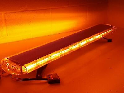 Volcano LED Recovery Lightbar 1200mm 47  Ultra Bright Amber Warning Strobe Light • 150£