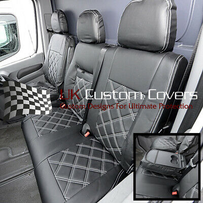 Mercedes Sprinter Van - Leather Look Front Seat Covers 2010-2018 234 • 99.95£