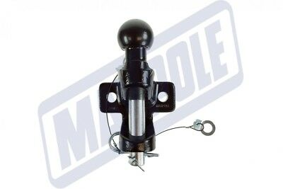 Maypole Universal Black 50mm Towbar Ball & Pin Towing Jaw Hitch - 3500kg Rated • 39.95£