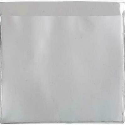 1 X Self Adhesive Backed Windscreen Ticket Holder For Parking Permit 90 X 90 Mm • 1.95£