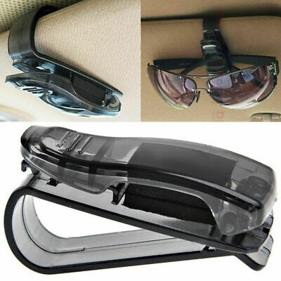 Sunglasses Clip Card Holder Car Sun Visor Storage Glasses Mount Ticket Receipt • 1.79£