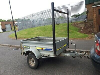 Car Trailer 5 X 3 New Tyres  • 280£