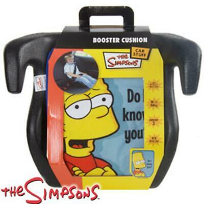 Bart Simpson Booster Cushioned Car Seat  • 27.99£