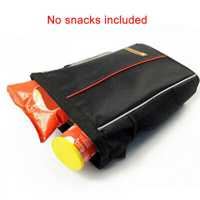 Portable Adjustable Strap Car Trash Can Foldable With Cover Storage Pocket • 9.71£