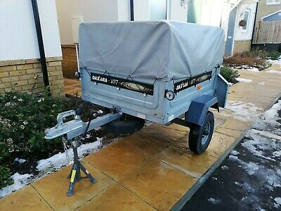 Daxara 107 Trailer With High Frame And Cover  • 275£