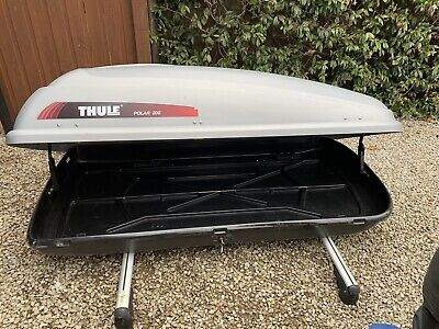 Thule Polar 200 Roof Box With Roof Bars And Attachments • 26£
