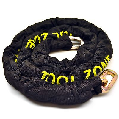 Heavy Duty Security Chain 1.8m / Chain Lock With Nylon Cover TE377 • 21.25£