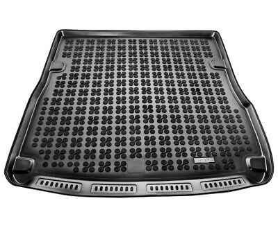TAILORED RUBBER BOOT LINER MAT For Audi A6 C6 Avant / Estate 2004-2011 • 31.99£