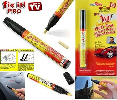 Magic Car Scratch Touch Up Repair Remover Removal Body Shop Paint Fix It Pen  • 1.85£