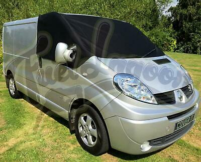 Vivaro Window Screen Cover Frost Protector Wrap Vauxhall Trafic Black Out Blind • 29.70£