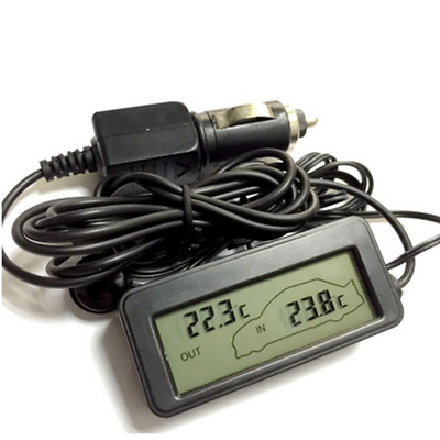 Universal Car Auto Accessories Indoor Outdoor LCD Digital Thermometer Blue LED • 7.88£