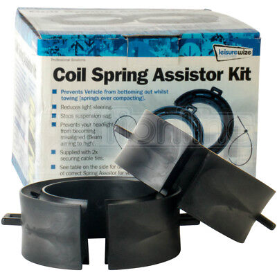 Coil Spring Assisters Suspension Gap Spacer Towing Adapter PO6 52mm-65mm 2 Pack • 15.99£