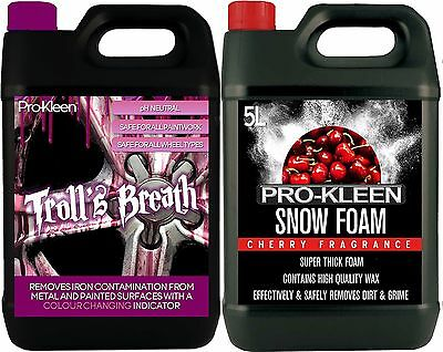 ProKleen Iron Contamination Remover Alloy Wheel Cleaner Fallout Thick Snow Foam • 29.95£