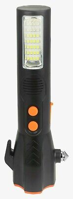 Car Light Torch LED Work Rechargeable Multi Function 5v USB Charge Alarm Mode • 9.99£