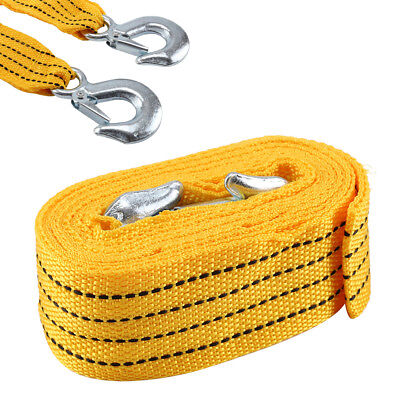 Perfect 4M Tow Towing Pull Rope Strap 3 Tons Heavy Duty Road Car Van Recovery • 5.89£