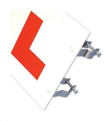 Bike It Rigid L-plate Learner Plate 2mm Thick With Fixing Brackets  • 3.99£