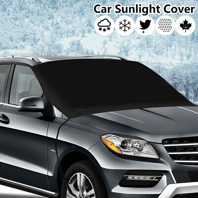 Frost Shield Car Windscreen Cover Snow Ice Protection Winter Window Guard Screen • 8.09£