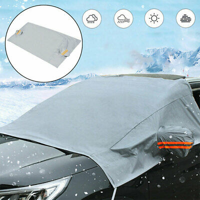 1Pcs Car Windscreen Mirror Shield Cover Frost Ice Snow Sun Dust Screen Protector • 7.32£
