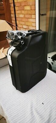 20l Jerry Can - Black Steel Finish • 15£