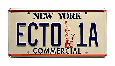 Celebrity Machines Ghostbusters 2 | ECTO-1A | Metal Stamped License Plate • 30.74£