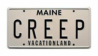 Celebrity Machines Creepshow 2 | CREEP | Metal Stamped License Plate • 27.37£