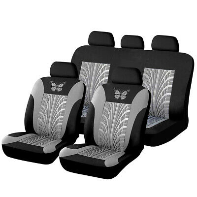 Universal Blue Car Seat Covers Full Set Protectors Washable Pet Front Rear New • 12.98£