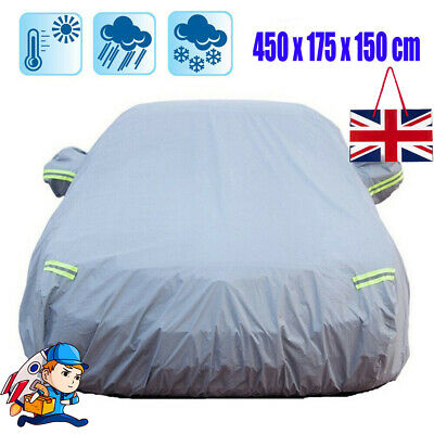 Universal Heavy Duty Full Car Cover UV Protection Outdoor Breathable Size Medium • 23.65£