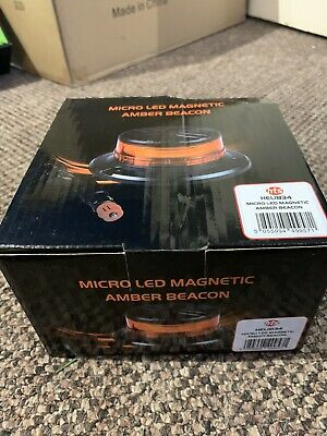 Micro LED Magnetic Amber Beacon • 15£