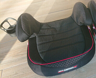 Scuderia Ferrari Children's Booster Seat - Black & Red With Cup Holder - Padded • 17.50£