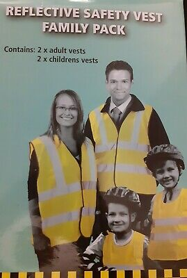 AA Family Pack Reflective Safety Vests • 18.99£