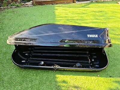 Thule Touring M (Black) 400 Litre Roof Cargo Luggage Box • 89£