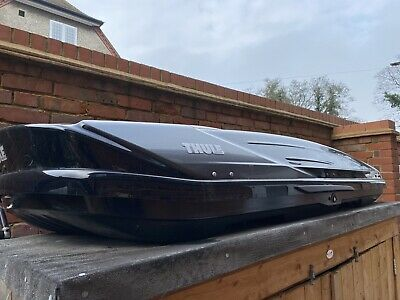 Thule Roof Box Excellence XT And Mounting Brackets • 450£