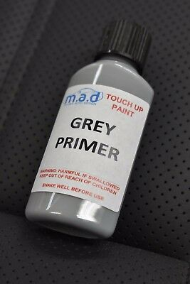 30ml High Build Grey Primer Air Dry Paint Touch Up Brush Scratch Chip Repair • 3.99£