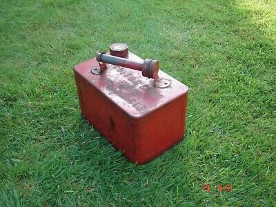 Old Vintage Classic Petrol Fuel Can Tank • 29£