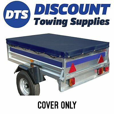 Franc GA150 Quality Blue Water Proof Trailer Cover 1560 X 1000mm & Bungee Cord • 28.95£
