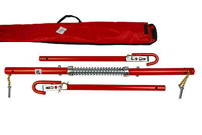 2 Ton 2000kg Towpole Car Van Recovery Towing Bar Tow Pole+ Damper Spring + Bag • 24.94£