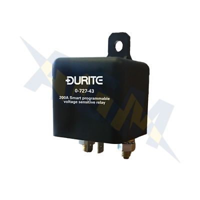 Durite 0-727-43 Euro 6 Smart Programmable Intelligent VSR Charge Relay 12v 200A • 60.99£