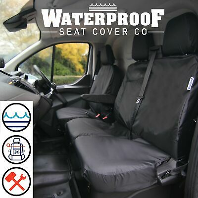 Ford Transit CUSTOM Seat Covers To Fit 2013 2014 2015 2016 2017 2018 2019 2020 • 59.99£