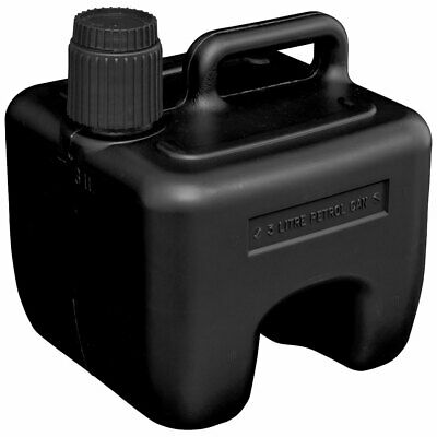 Sealey JC3B Stackable Fuel Can 3L - Black • 6.64£