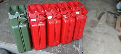 Jerry Can Fuel Petrol Diesel Metal Container 20ltr • 48£