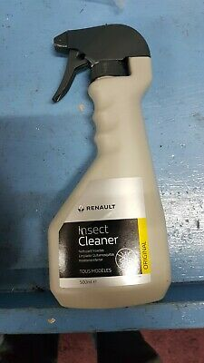 GENUINE NEW RENAULT INSECT CLEANER SPRAY 500ml 7711576106 • 7.45£