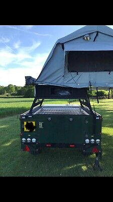 Sankey Expedition Trailer, Roof Tent, Solar • 4,000£