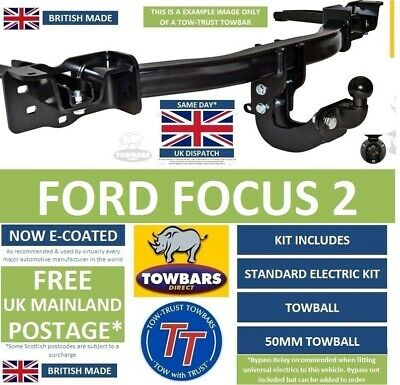 Towbar For Ford Focus 2 Hatchback, Saloon & CC 2005 To 2011 Tow Bar Kit TFD4 • 122£