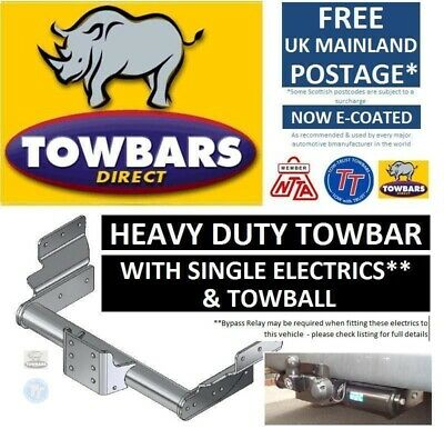 Towbar For Ford Transit Van & Minibus 2000 To 2014 Heavy Duty Flange Tow TF158 • 109.99£