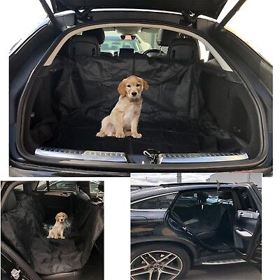 Car Boot Liner Waterproof Rear Seat Cover Mat  Dirt Protector Pet Dog Heavy Duty • 8.99£