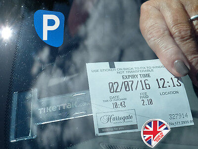 Tikettak - Car Permit And Ticket Holder - Avoid Parking Fines • 1.99£