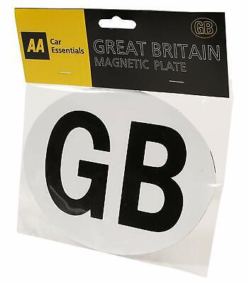 AA GB Magnetic Plate - White Background - For European Travel • 3.99£