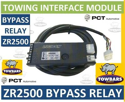 Towing Bypass Interface Relay PCT Logicon ZR2500 7 Way Universal Smart Towbar • 22.95£